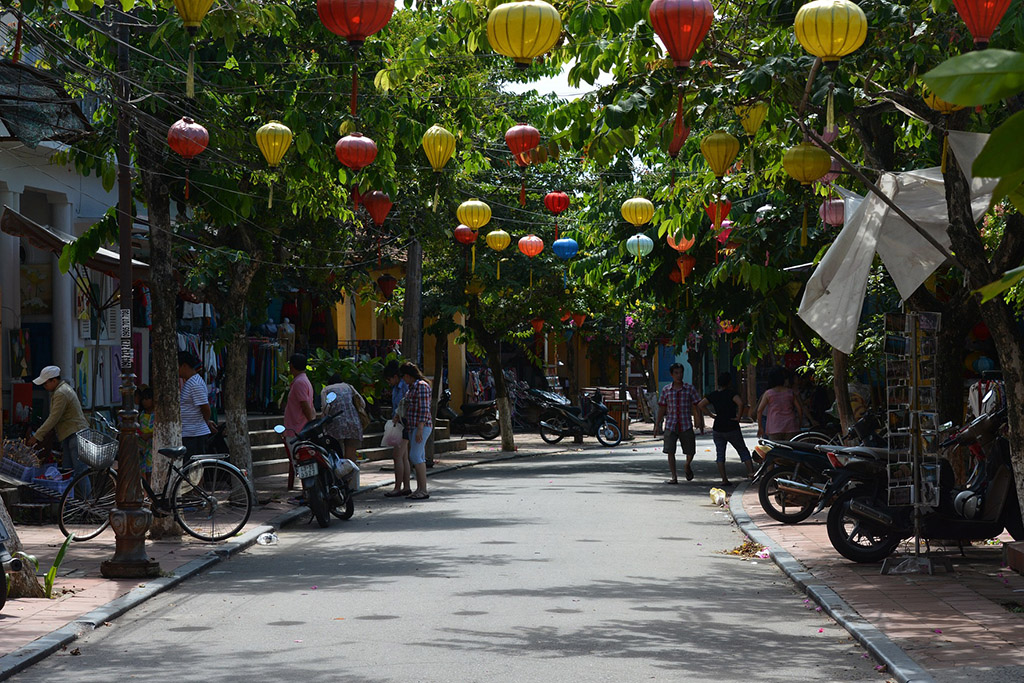 Nguyễn Thị Minh Khai road in Hoi An