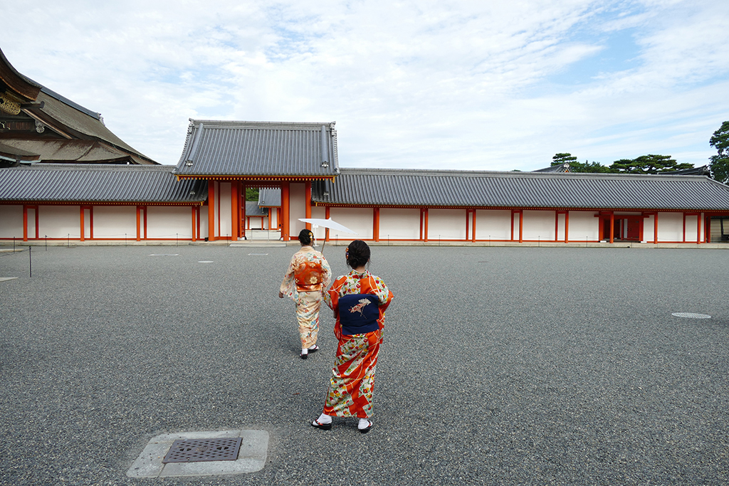 Imperial Palace in 4 Days Kyoto Treasure Box of Japan