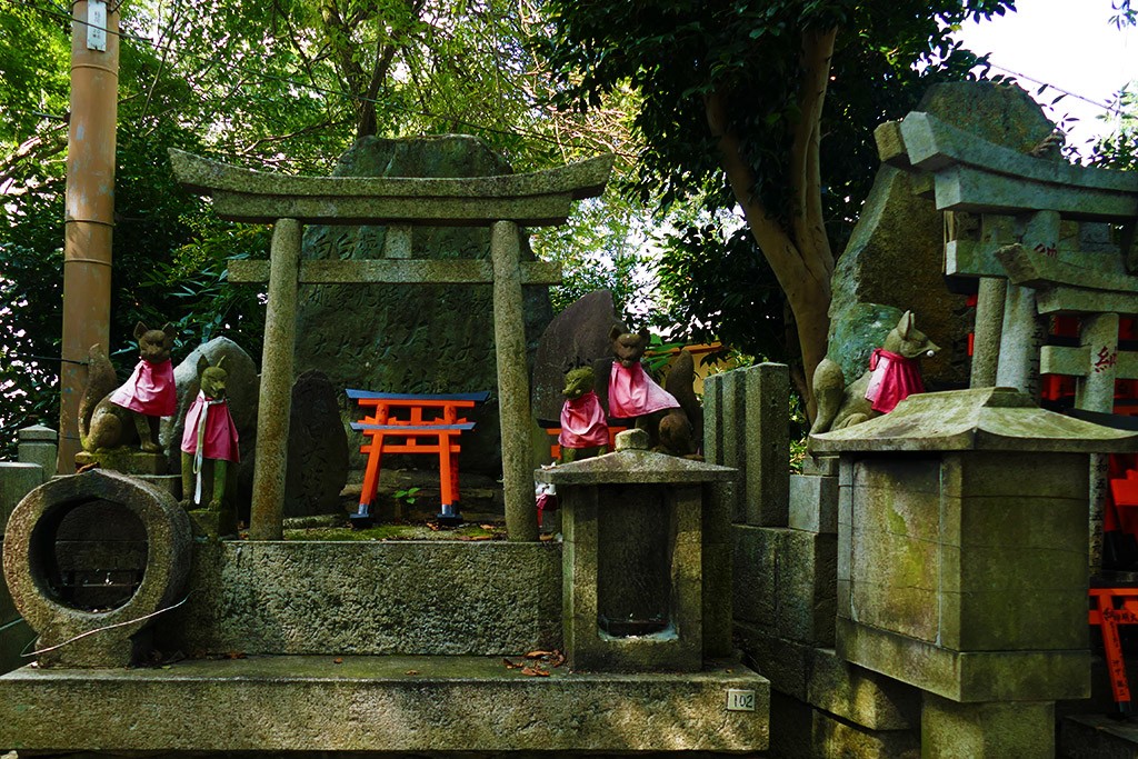 Fushimi Inari-Taisha between Kyoto and Nara