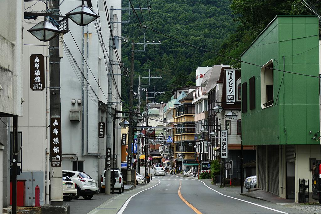 Downtown Kawaguchiko.