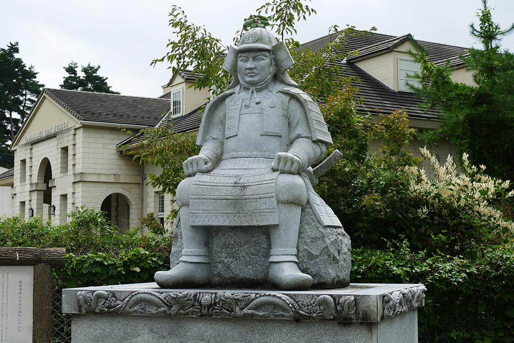 Shogun Sculpture at Kawaguchiko