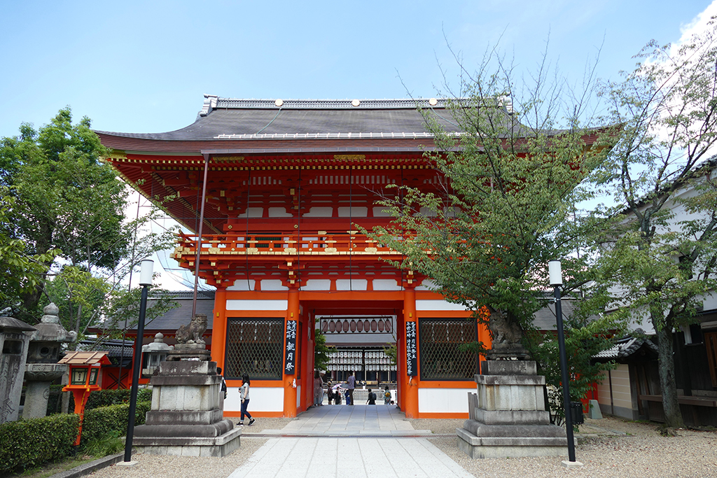 The entrance gate at the Tokiwa Shinden side.
