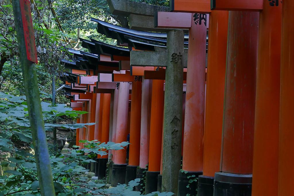 Fushimi Inari-Taisha between Kyoto and Nara