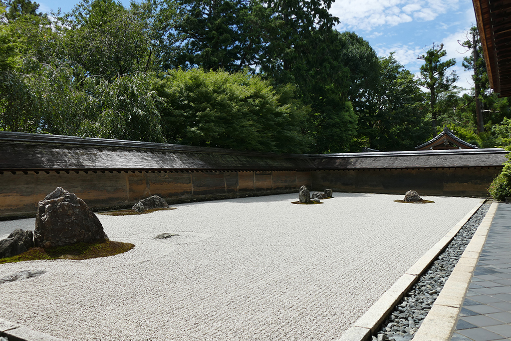 Ryoanjy Temple at Kyoto