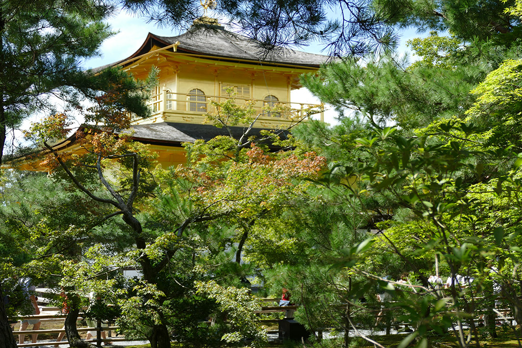 Golden Pavilion Kinkakuji  to be visited on 4 Days Kyoto Treasure Box of Japan