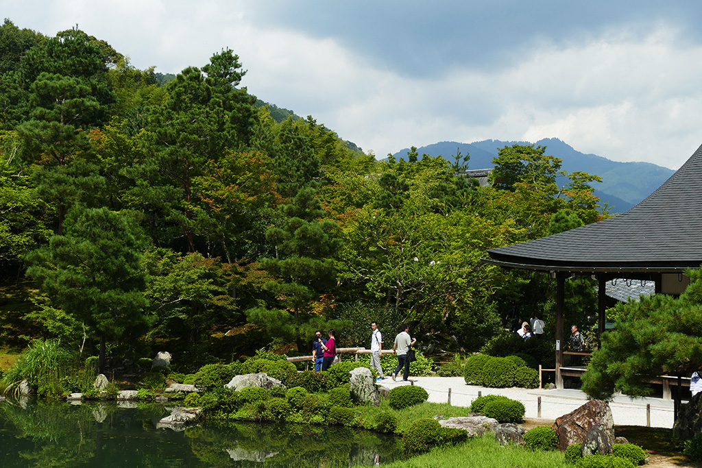 Tenryuji Temple at Arashiyama,  to be visited on 4 Days Kyoto Treasure Box of Japan