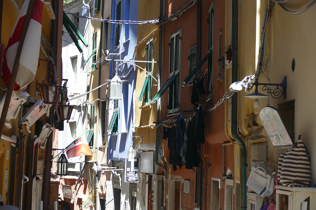 Shutters in Porto Venere