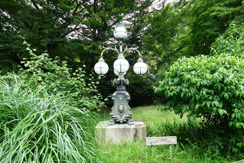 Lantern at the East Garden in Tokyo