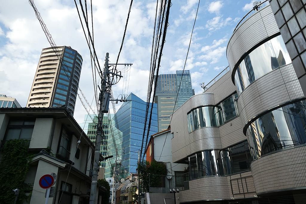 Roppongi neighborhood in Tokyo