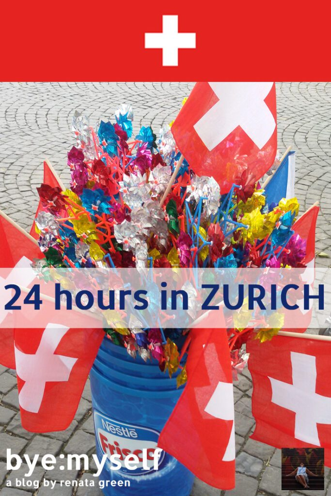Pinnable Picture for the Post on 24 hours in ZURICH