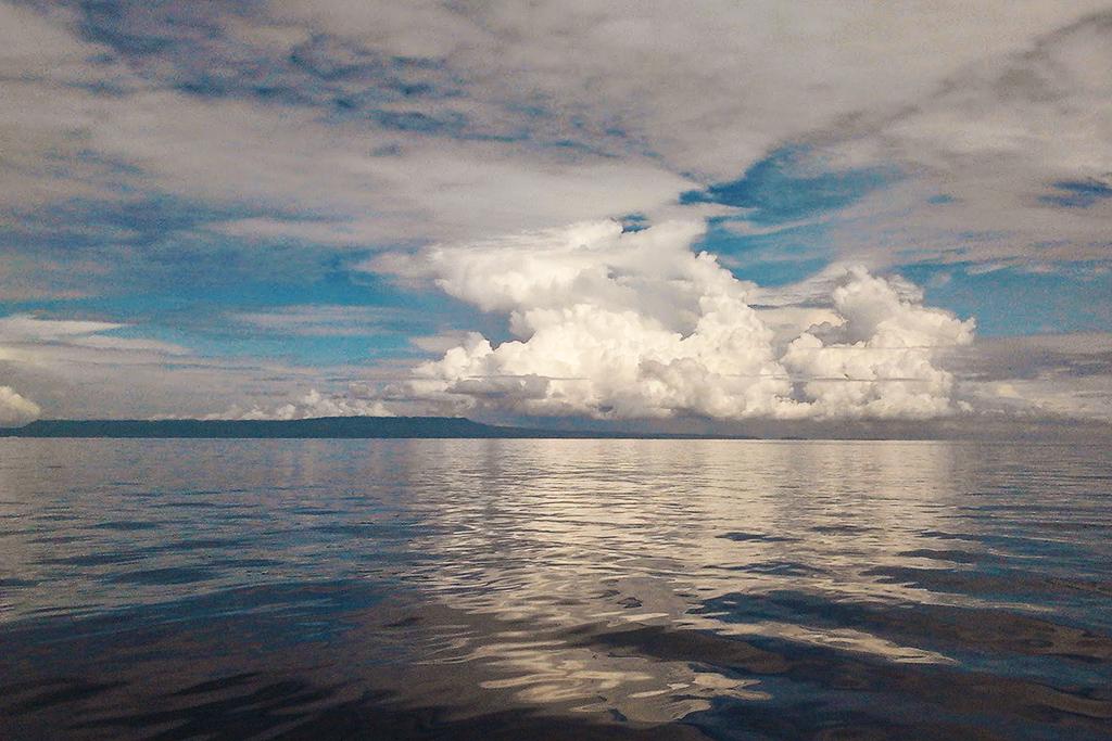 Bali Sea between the Gili islands and Lombok