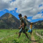 children on lombok, bali's serene alternative