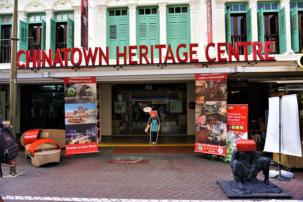 chinatown heritage centre in Singapore