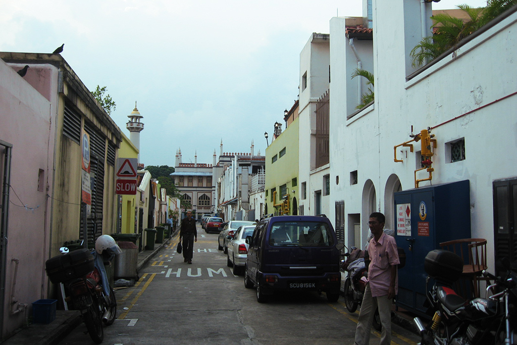 Kampong Glam Muslim Neighborhood in Singapore, the powerful city-state