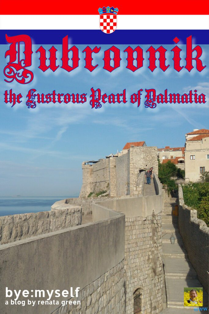 Pinnable Picture for the Post on Pinnable Picture for the Post on Guide to DUBROVNIK, the Lustrous Pearl of Dalmatia