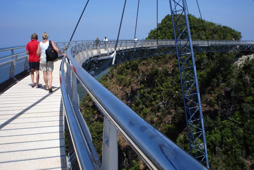 Sky Bridge on Pulau Langkawi