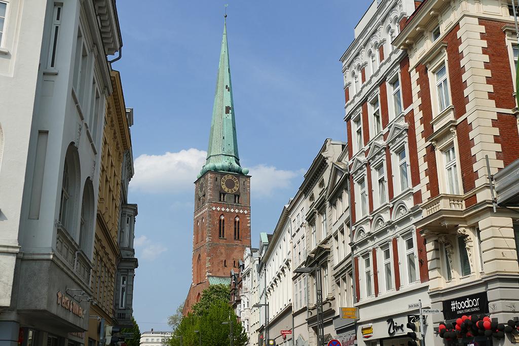 St. Jakobi church at Lübeck