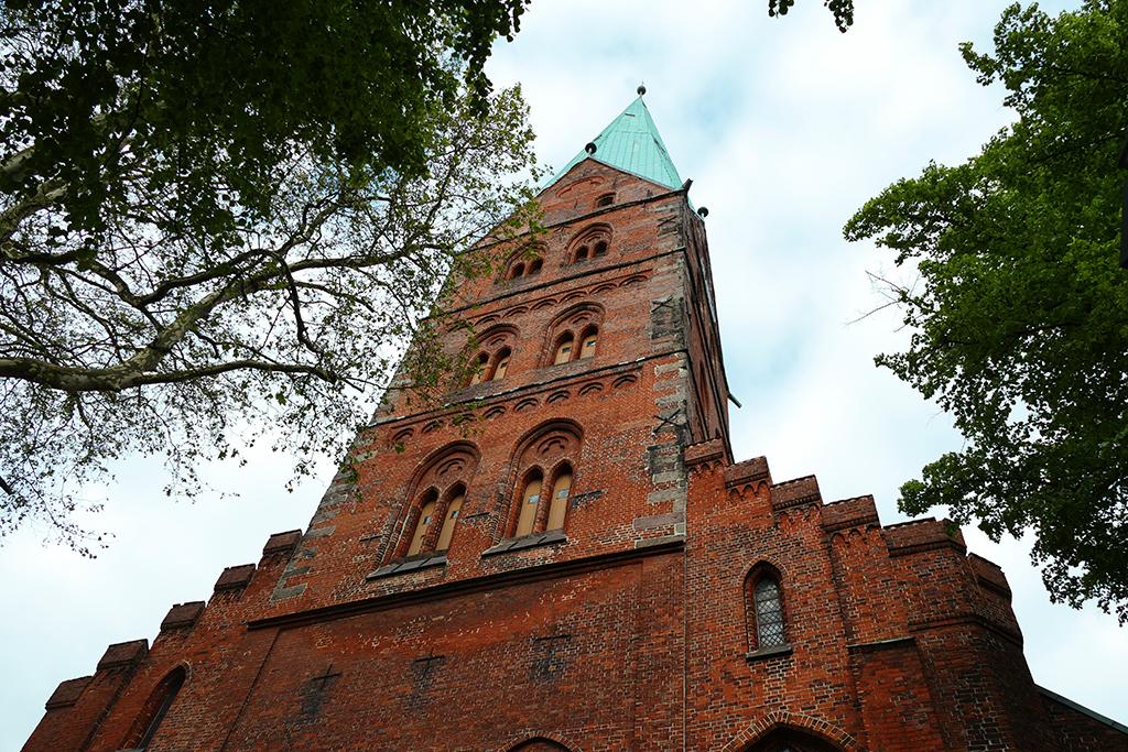 Saint Aegidien in ravishing Luebeck
