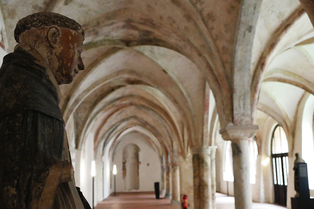 the Burgkloster, a former Dominican Cloister from 1229 at ravishing Luebeck