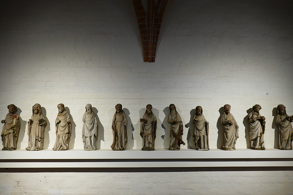 Apostles at the St Annen Museum in Luebeck