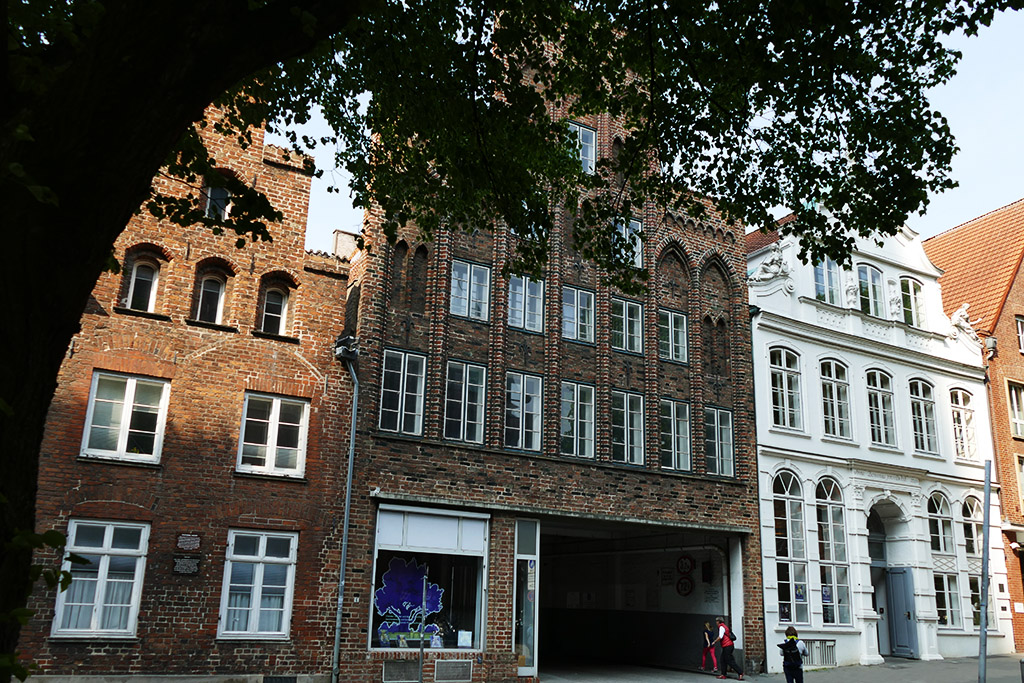Buddenbrookhaus at the Mengstraße in Luebeck