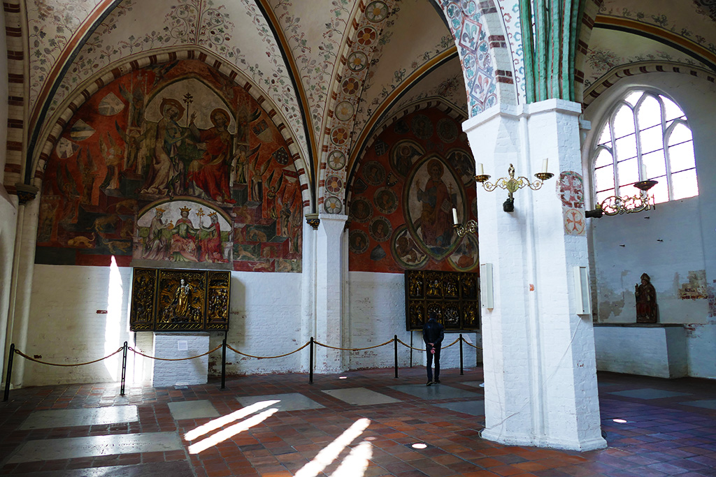 The Hospice of the Holy Ghost in Lubeck