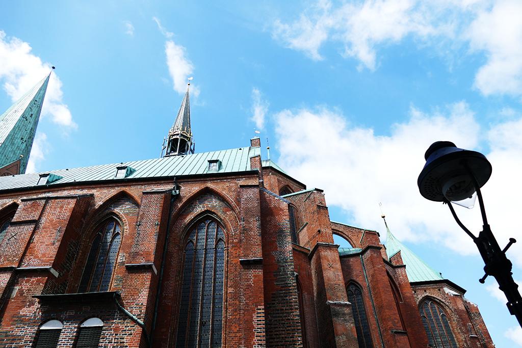 Saint Marie's Church in Lubeck