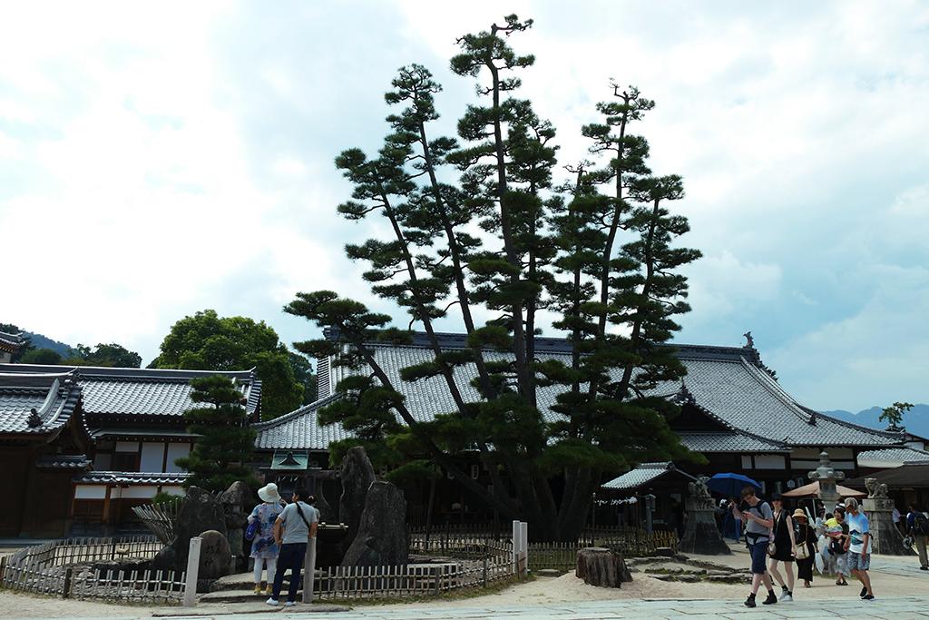 Entrance to the Daiganji Benzaiten Temple on Miyajima