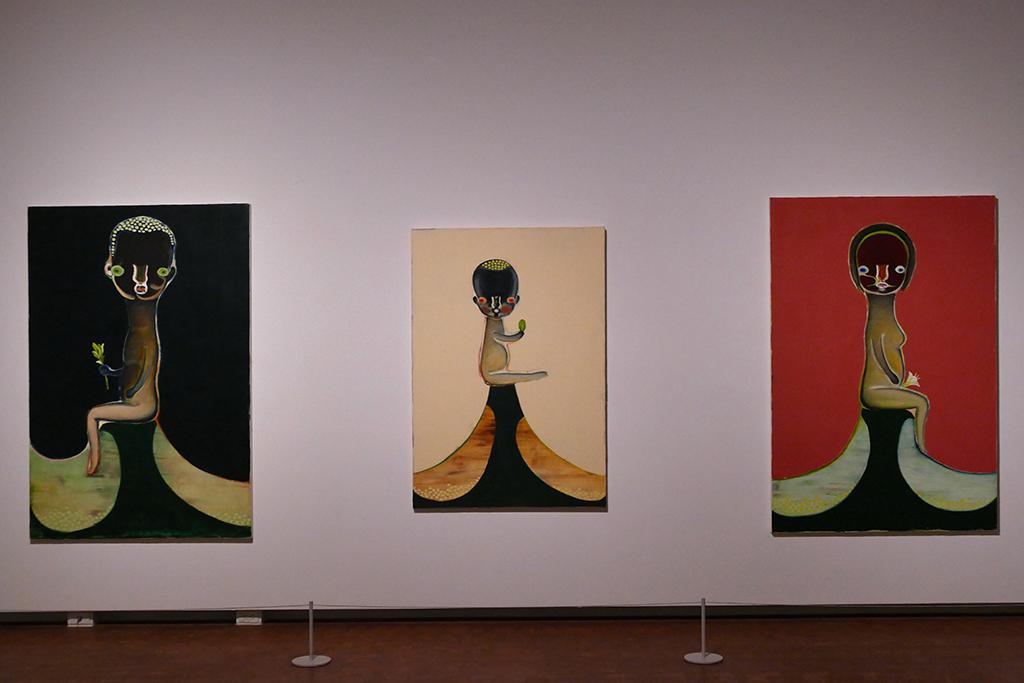 paintings by Izumi Kato.