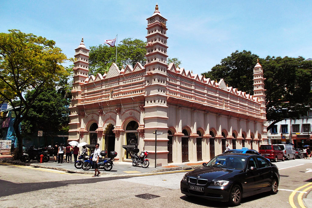 The Nagore Durgha Shrine in Singapore, the powerful city-state