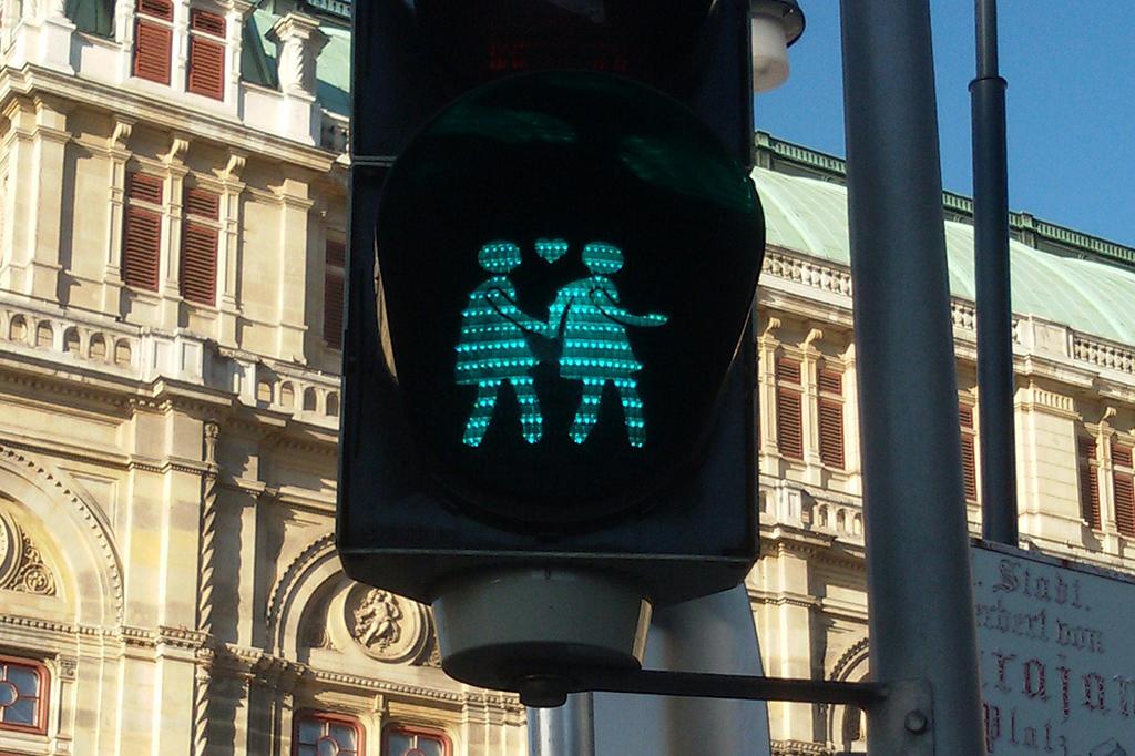 Street light in Vienna