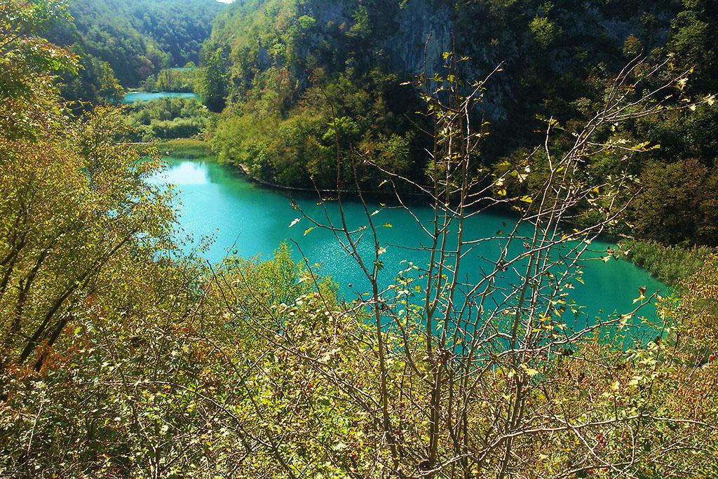 Pools of the Plitvice Lakes Croatia