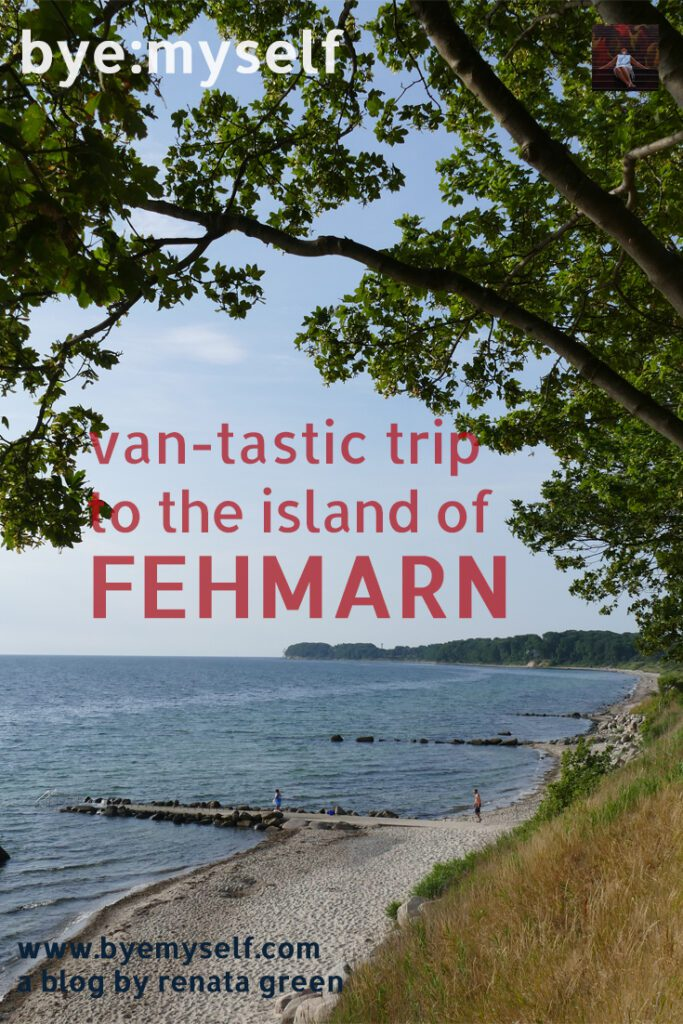 Pinnable Picture for the post on A VAN-TASTIC TRIP to the ISLAND of FEHMARN