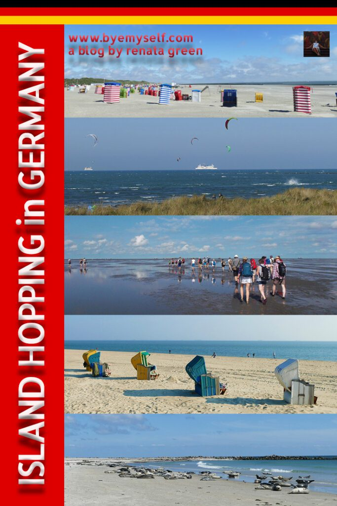Pinnable Picture for the post on ISLAND HOPPING in GERMANY