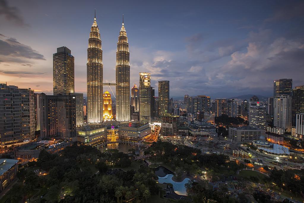 Petrona Towers in Kuala Lumpur