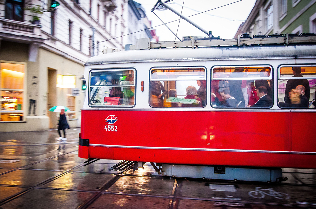 VIENNA - visited by streetcar