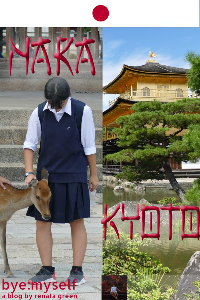 Pinnable Picture for the Post on 4 Days in KYOTO: A Guide to Japan's Treasure Box and a Side Trip to NARA