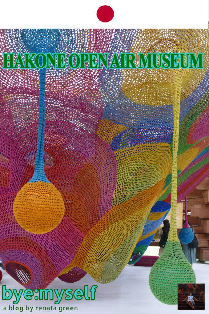 Pinnable Picture for the Post on HAKONE OPEN AIR MUSEUM - at the height of beauty