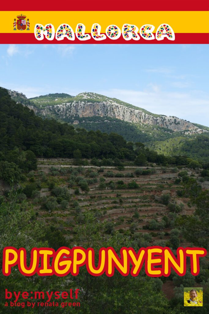 Pinnable Picture for the Post on Hiking the Circular Trail Around PUIGPUNYENT