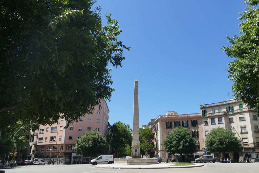 Plaça del Cardenal Reig in Palma de Mallorca