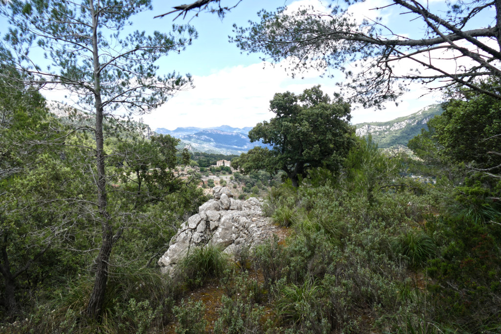 View from the Trescollet saddle