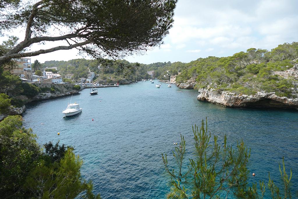 Cala Figuera on Mallorca's East Coast