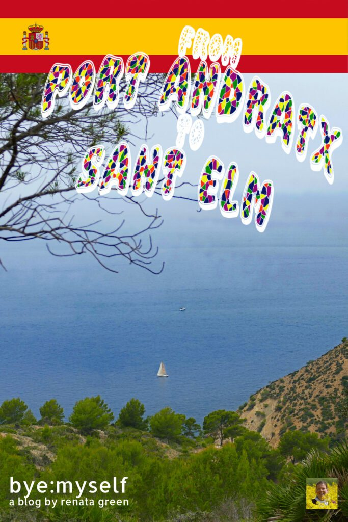 Pinnable Picture for the Post on From PORT d'ANDRATX to SANT ELM - Hike With a View