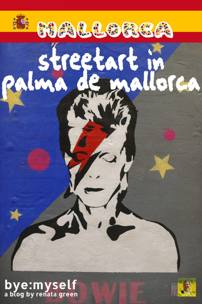 Pinnable Picture for the Post on Best STREET ART in PALMA de MALLORCA