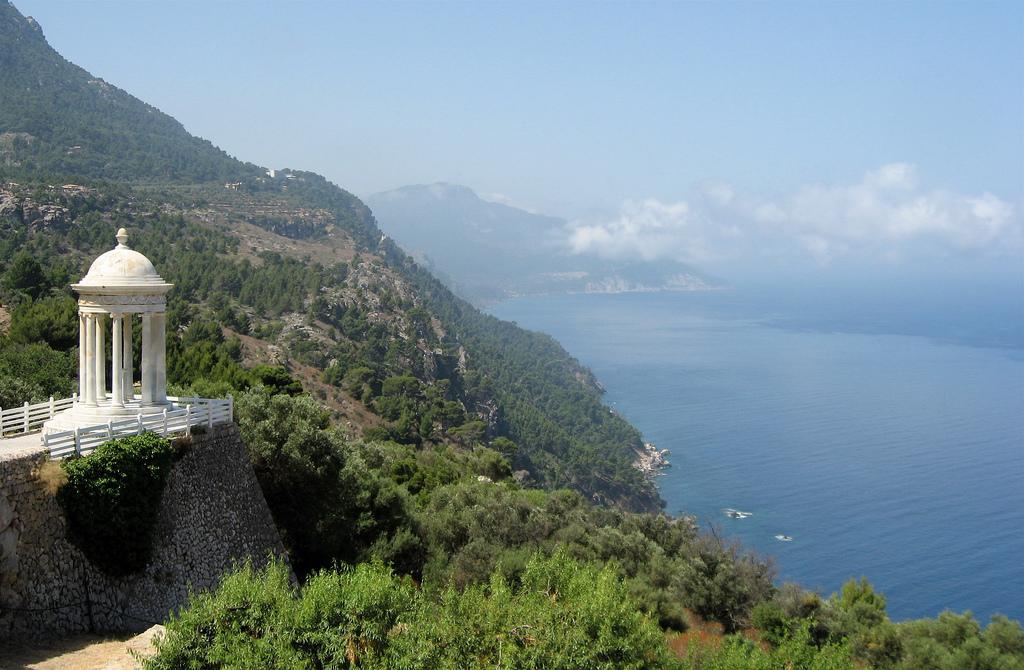 Stop at the Son Marroig estate on Mallorca on a bus tour to Soller Deia Valldemossa famous