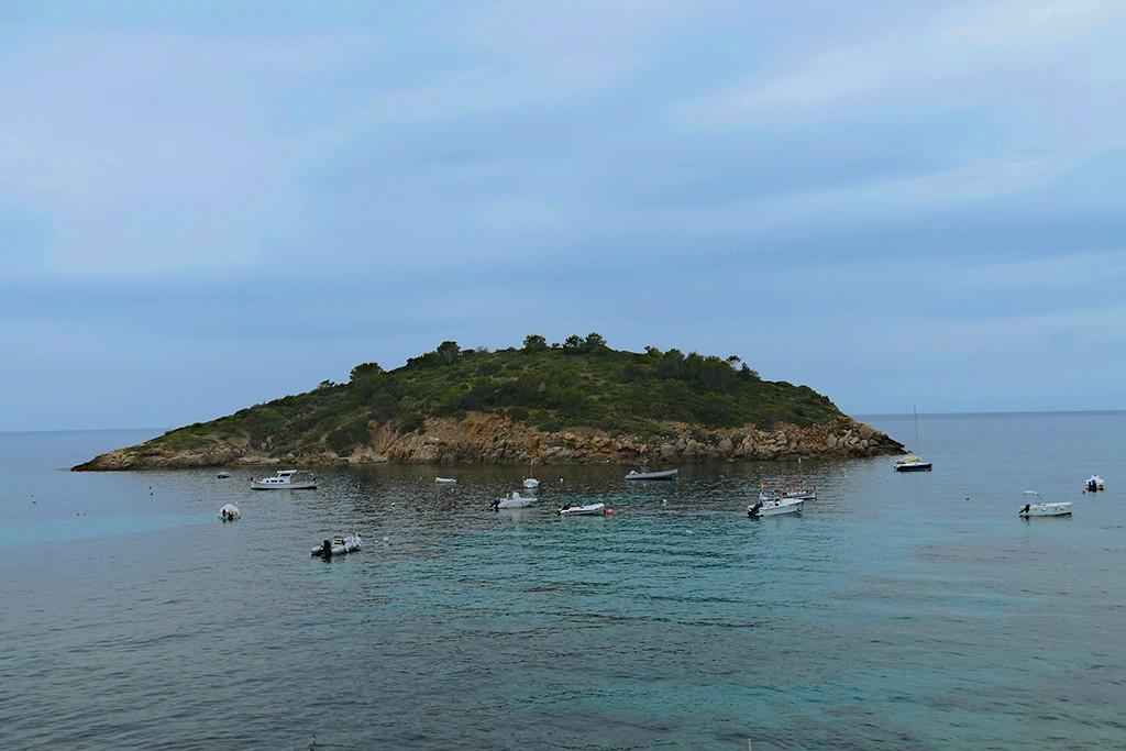 Illa Pantelau off Sant Elm's shore.