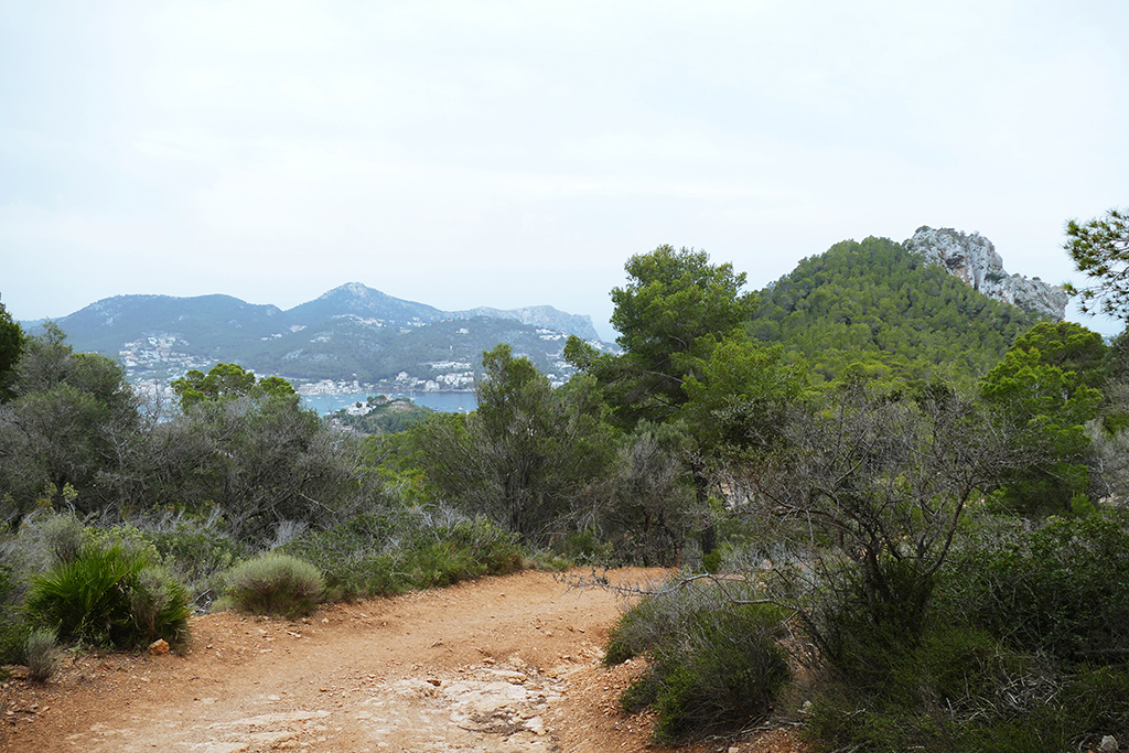 Trail between Port d'Andratx and Sant Elm