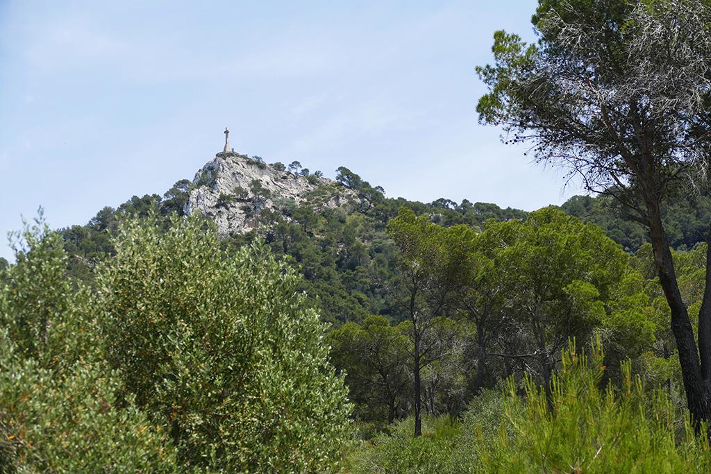 Mount Sant Salvador in Mallorca