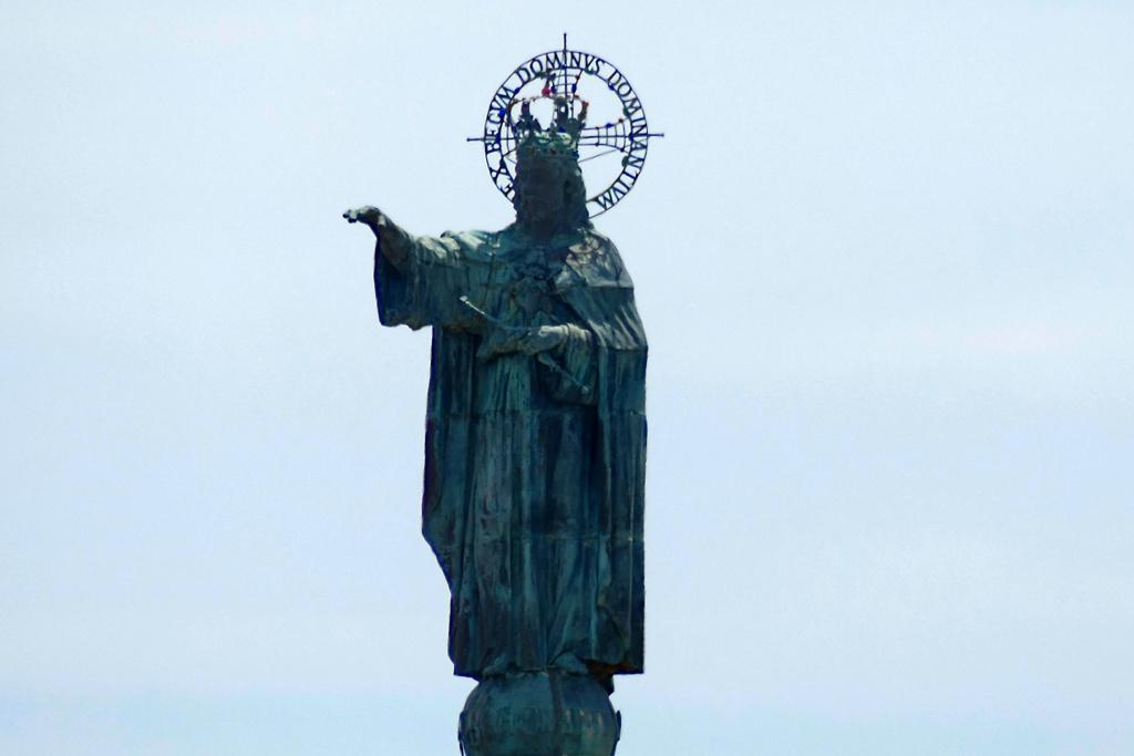 Cristo Rei on Mount Sant Salvador
