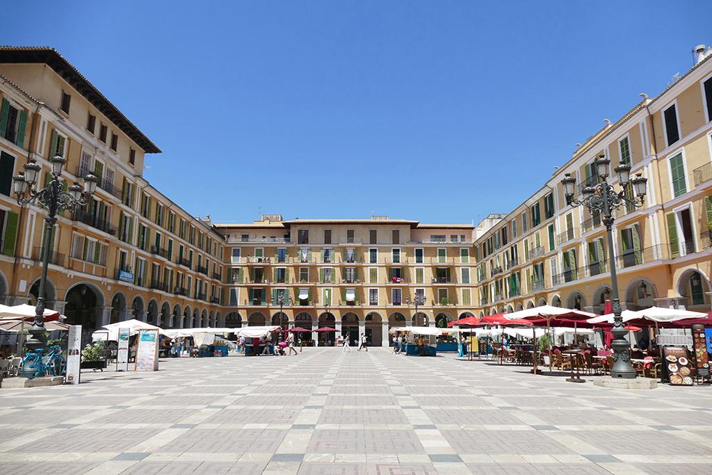 Plaça Major in Palma de Mallorca